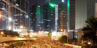 Á götum Hong Kong