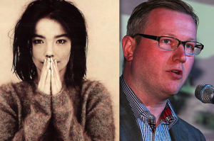 Björk og Jens Garðar