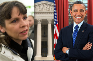 Birgitta og Obama