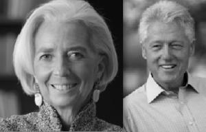 Lagarde og Clinton