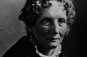 Harriet Beecher Stowe, höfundur Kofa Tómasar frænda.