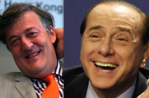 Fry og Berlusconi