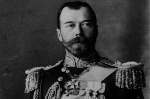 Nikulás II Rússlandskeisari.