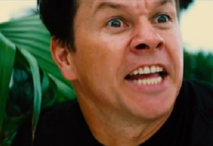Mark Wahlberg flæsir nösum.