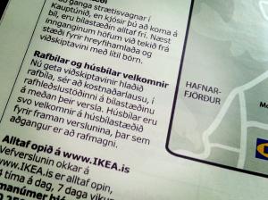 Húsbílar? Í þessi skipti sem ég hef íhugað að flytja í Ikea hafa útstillingarnar nú heillað mig meira en bílastæðin.